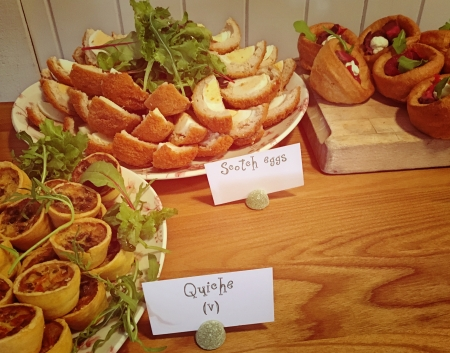 The One Elm buffet lunch 1
